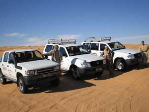 circuits 4x4 en Tunisie