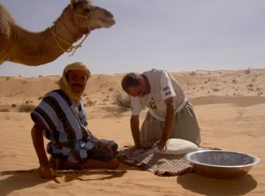 trek dans le Sahara