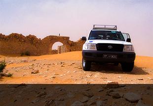 Circuit 4x4 au sud tunisien